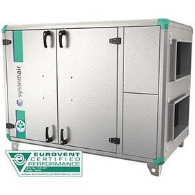Приточно-вытяжная вентиляционная установка 2000 м3/ч Systemair Topvex SR03EL-L-CAV