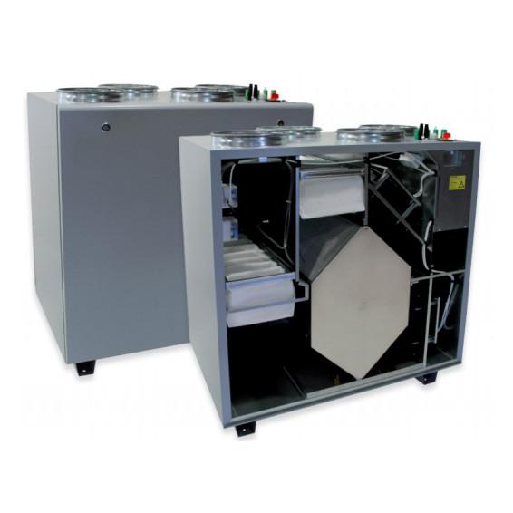 Приточно-вытяжная вентиляционная установка 2000 м3/ч DVS RIS 1900 PW EKO 3.0
