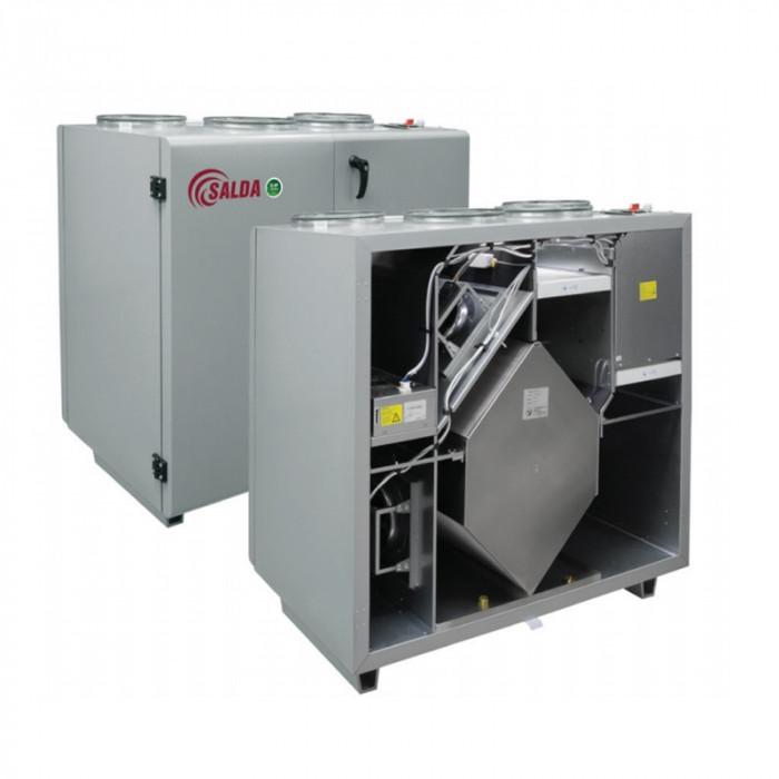 Приточно-вытяжная вентиляционная установка 2000 м3/ч Salda RIS 2200 VWR EKO 3.0 (PfW)