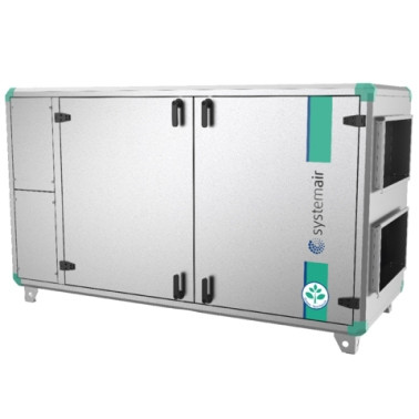 Приточно-вытяжная вентиляционная установка 2000 м3/ч Systemair Topvex SX/C03 HWL-R