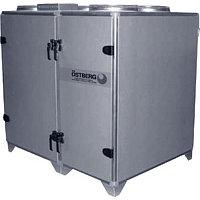 Приточно-вытяжная вентиляционная установка 3000 м3/ч Ostberg HERU 600 T RWR
