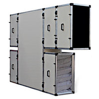 Приточно-вытяжная вентиляционная установка 5500 м3/ч Turkov Zenit HECO 5000 SW