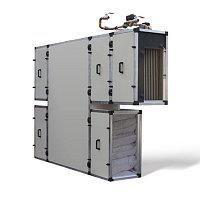 Приточно-вытяжная установка с рекуперацией тепла и влаги Turkov CrioVent 8000 SW