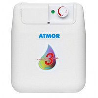 Электрический накопительный водонагреватель 10 литров Atmor U/S/E 10 LT