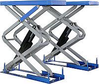 Гидравлические перегрузочные мосты с выдвижной аппарелью  и ножничной платформой