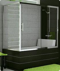 Стеклянные шторки / перегородки / дверки для ванн