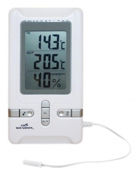 Цифровой термогигрометр Wendox W2490-W