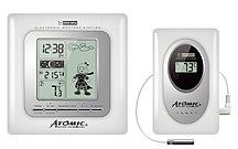 Цифровая метеостанция с радиодатчиком Atomic W839009-White