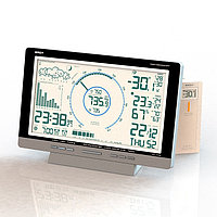 Цифровая метеостанция с радиодатчиком Rst 88777