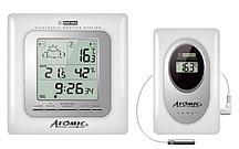 Цифровая метеостанция с радиодатчиком Atomic W739009-White