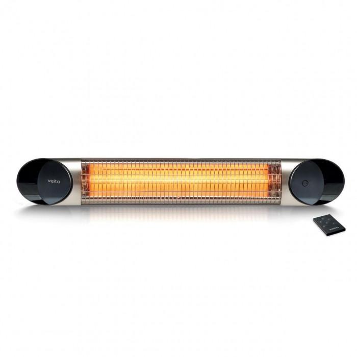 Инфракрасный обогреватель 1 кВт Veito Blade mini Silver - фото 1