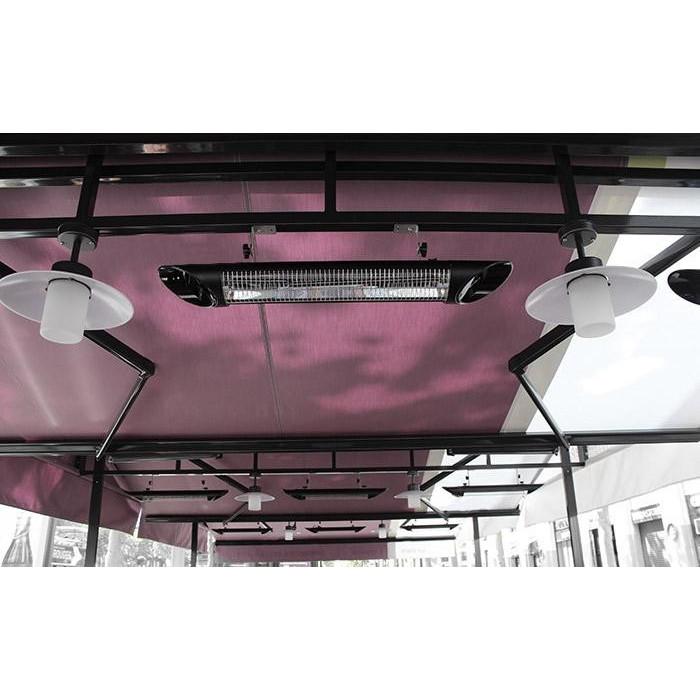 Инфракрасный обогреватель 2 кВт Veito Blade S Black - фото 3