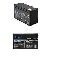 Аккумуляторная батарея SVC 12В 9 Ач, фото 1