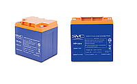 Аккумуляторная батарея SVC 12В 24 Ач, фото 1