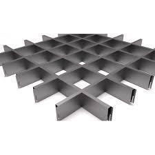 Грильято металлик матовый 75х75