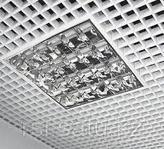 Грильято потолок ячейка  150*150
