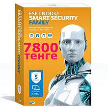 Антивирус ESET NOD32 Smart Security Family на 1 год на 3 устройства или продление на 20 месяцев