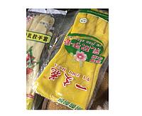Гелевые Перчатки Пальма,  Лилия  (По запросу)  Цвета Желтый и Бежевый