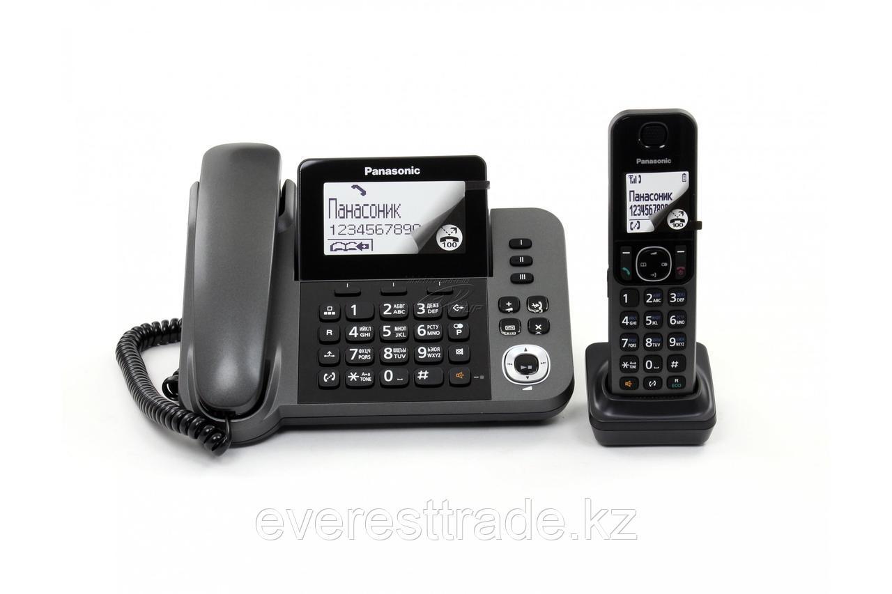 Телефон PANASONIC KX-TGF320UCM Black