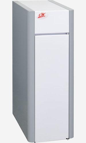Напольный газовый котел Ок-10г (автоматика каре, Польша), 10 кВт до 90 м²