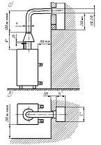 Напольный газовый котел Ривнетерм-32 (автоматика каре, Польша), 32 кВт до 300 м², фото 3