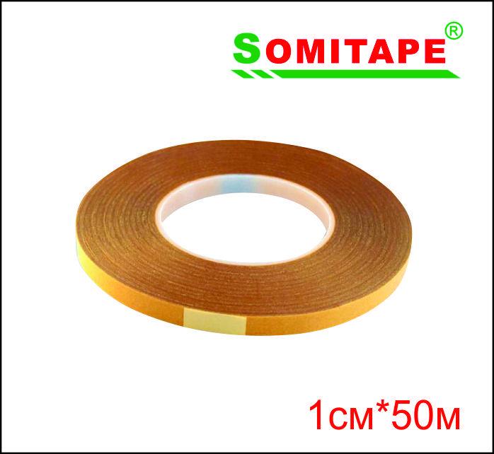 Двусторонний скотч для баннера (прозрачный) 1смХ50м