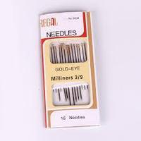 Иглы для шитья Needles золото