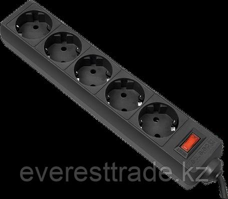 Сетевой фильтр Defender ES 3 черный, 5 розеток, фото 2