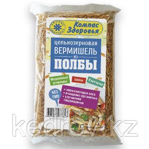 """Макаронные изделия """"Вермишель из полбы"""", 350 гр"""
