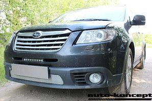 Защита радиатора Subaru TRIBECA (I рестайлинг) 2007-2014 chrome PREMIUM