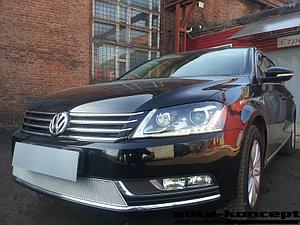 Защита радиатора Volkswagen Passat B7 chrome PREMIUM