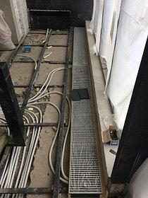 Монтаж напольных конвекторов отопления 3