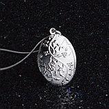 """Кулон на цепочке """"Овальный медальон"""", фото 3"""