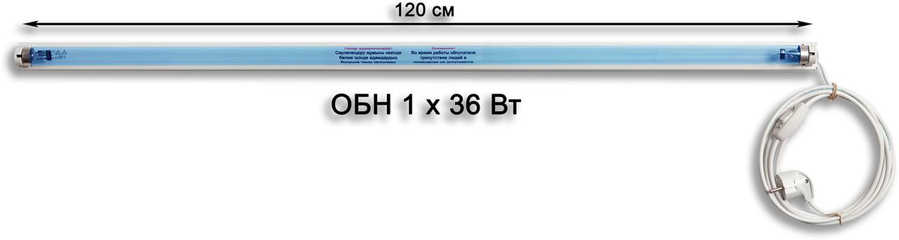 Облучатель бактерицидный настенный ОБН 1х36 Вт