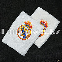 Напульсник на запястье белый Real Madrid C.F.