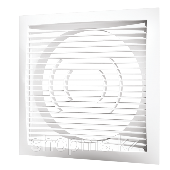 Решетка вентиляционная приточно-вытяжная ЭРА 1515РС10Ф 150*150 с фланцем D100