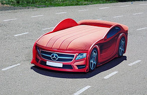 Кровать машина детская Мерседес-М Red