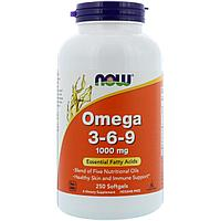 Омега 3-6-9. 1000 мг. 250 капсул.
