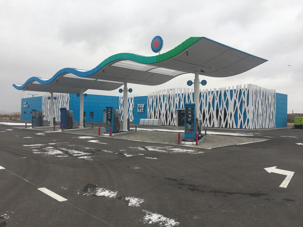 """Автозаправочные станции """"Gas Energy"""" в г. Астана"""