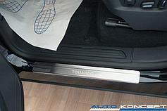 Молдинги, накладки Volkswagen Touareg 2010-2014