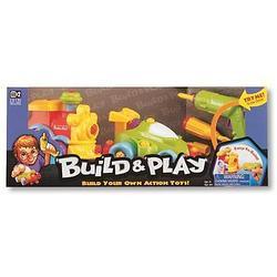 Набор Keenway Build&Play машина+паровозик