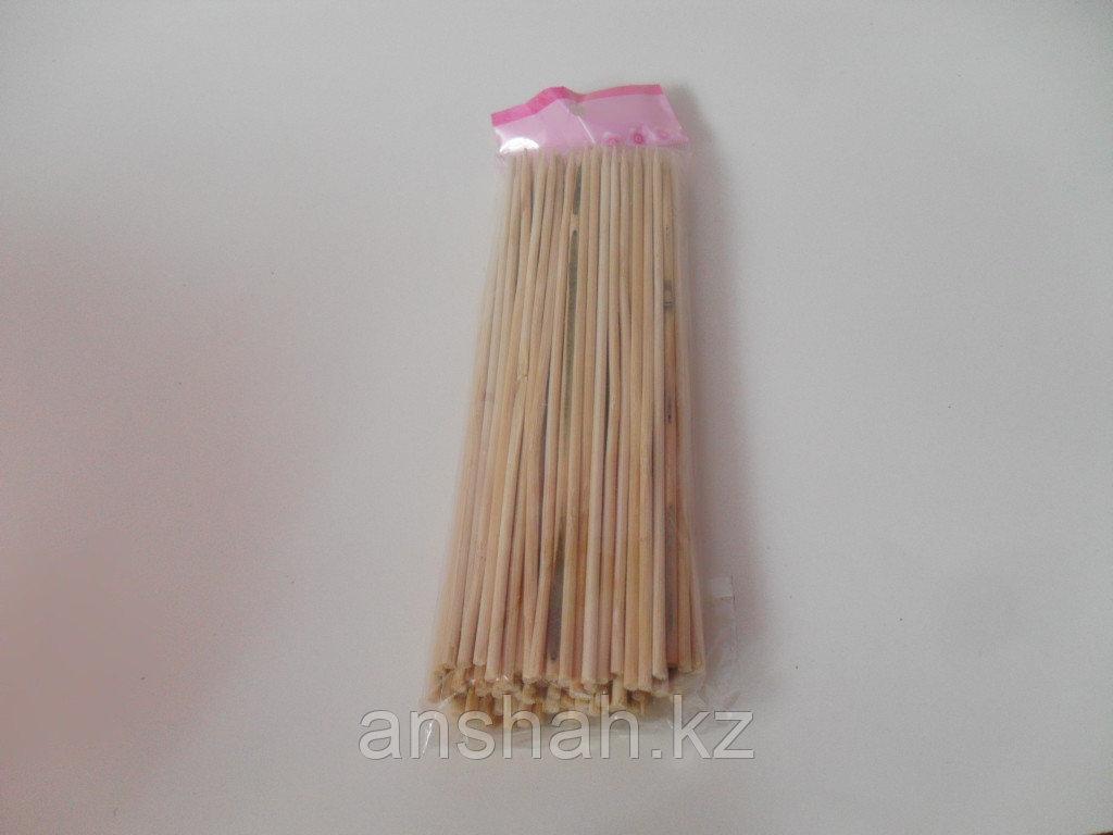 Шпашки бамбуковые 25 см   (50шт. в пачке)