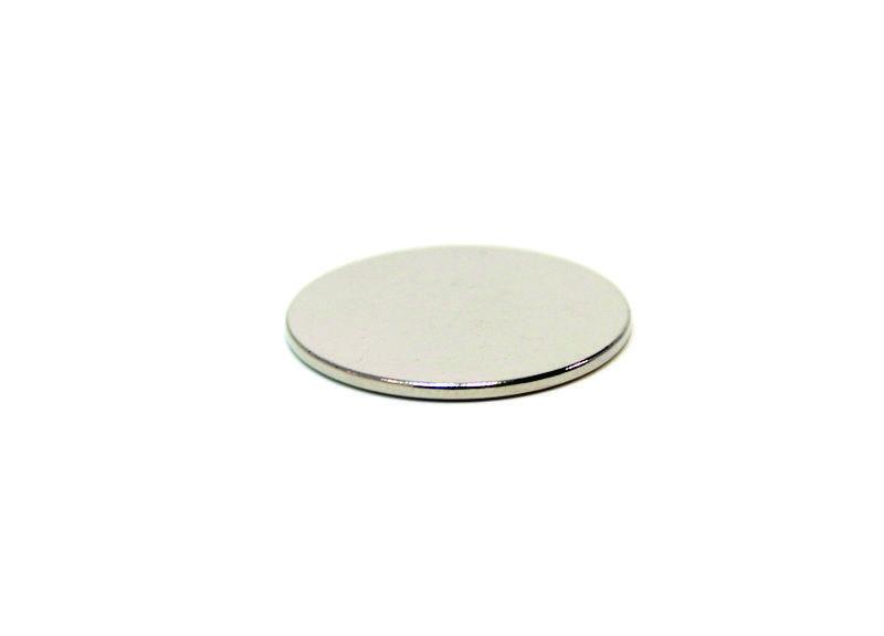 Неодимовый магнит D20 х 1мм.
