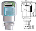 Воздушный клапан с переходником на DN50/75, фото 2