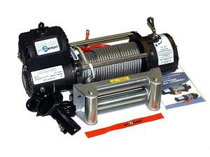 Лебедка электрическая автомобильная СТОКРАТ LD 9.0 SW, 9000 lbs, 12V, 5.0 л.с.