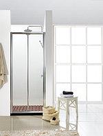 Душевая дверь BRAVAT BRAVAT Drop BD100.4120A (1000X2000 в нишу с 1 сдвижной дверью. 6 мм профиль алюминий)