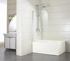 Душевая шторка на ванну BRAVAT ALFA BG070.5110A-1 (700x1500 стекло - 5мм/Easy clean. профиль - 1,5мм)