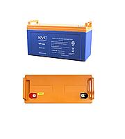 Аккумуляторная батарея SVC 12В 80 Ач, фото 1