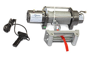 Лебедка электрическая автомобильная СТОКРАТ SD 8.0 SW, 12V, 5.5 л.с.