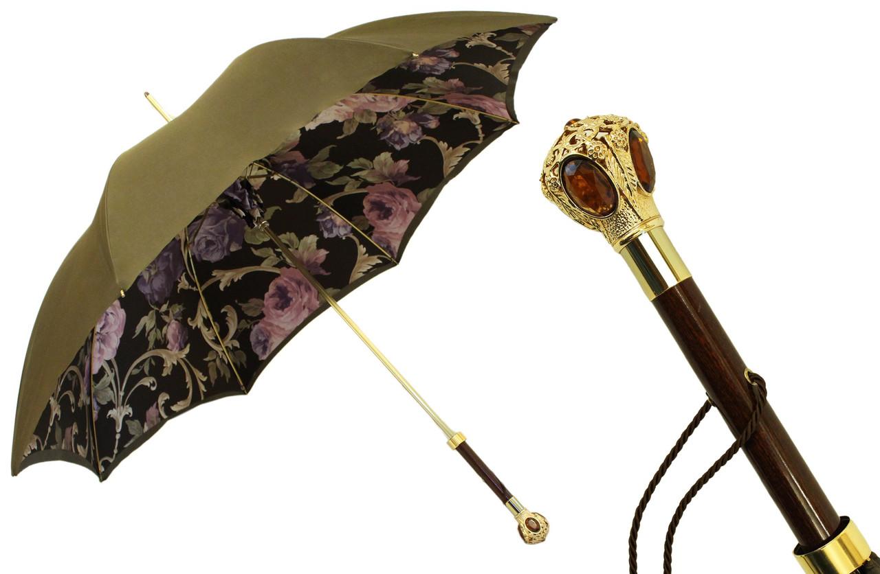 Зонт женский. Производство Италия. Ручная работа